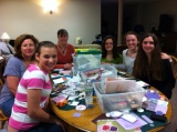 April 2012 – Girl Scouts Help Design Greeting Cards